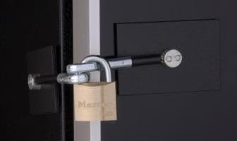 Black Wine Chiller Lock