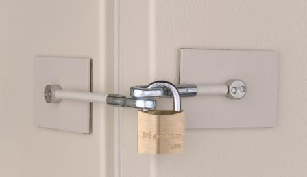Ivory Refrigerator Door Lock