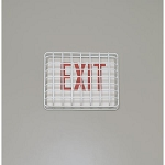 Exit sign cage
